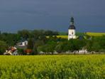 Gewitterstimmung über Pretzschendorf