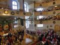 Geschmückte Kirche