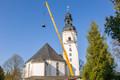 70 Jahre lang haben die Eisenhartguss-Glocken Dienst getan,...