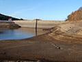 15.11.2009: Das letzte Wasser im Staubecken