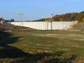 29.20.2011: Die Sperrmauer ist wieder dicht