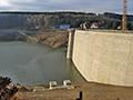 28.12.2011: Erstes Wasser im Staubecken