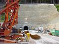 16.06.2007: Baustelle Hochwasserentlastungsstollen